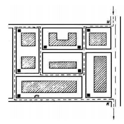 Схема участка сбора ТКО