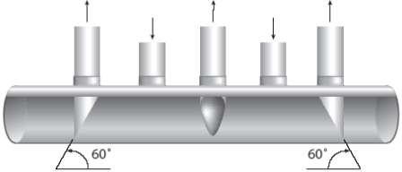Схема всасывающего коллектора