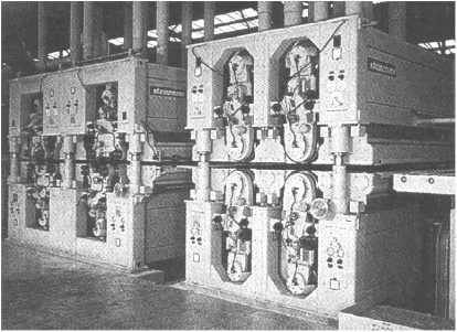 Широколенточный шлифовальный 4-головочный агрегат