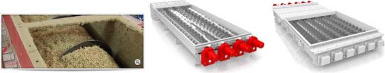 Шнековые конвейеры для перемещения сыпучих материалов