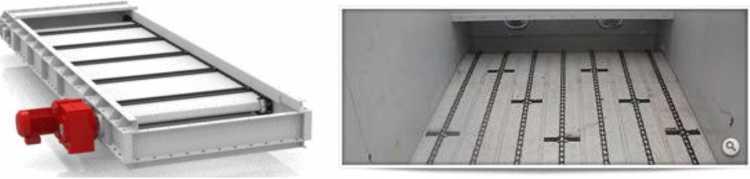 скрепковые конвейеры для перемещения сыпучих материалов