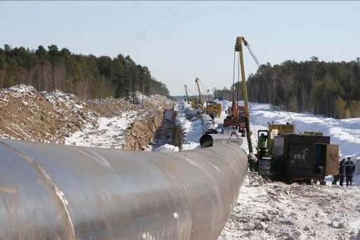 Сооружение подземного газопровода