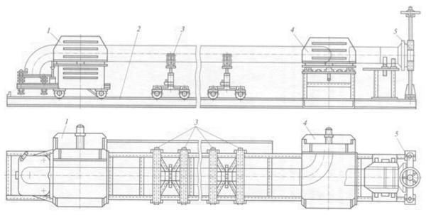 Стенд для сборки элементов трубопровода