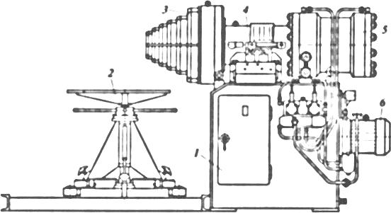 установка для калибровки концов труб и деталей