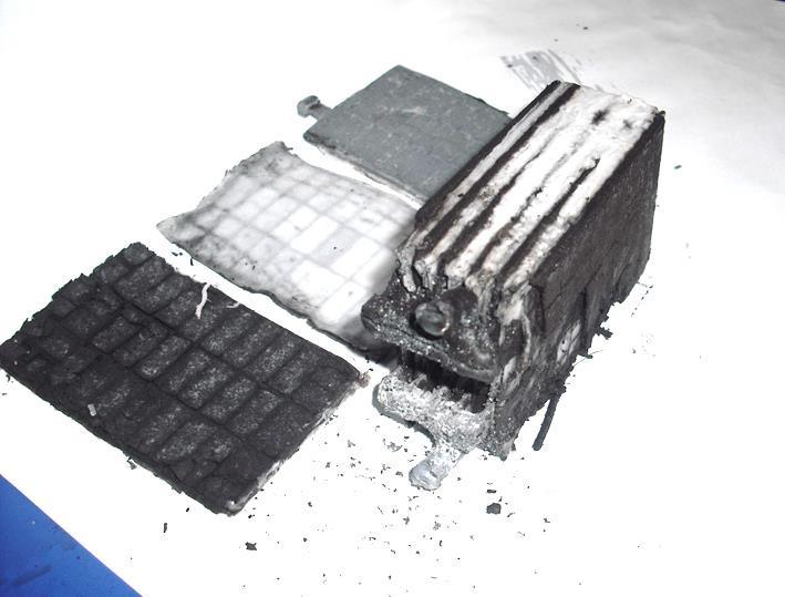 Устройство батареи типа AGM