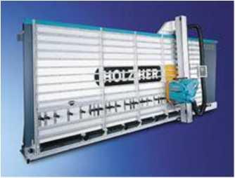 Вертикальный форматно-раскроечный станок фирмы Holzher