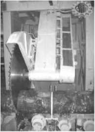 вид пильного станка ЛЦ-60