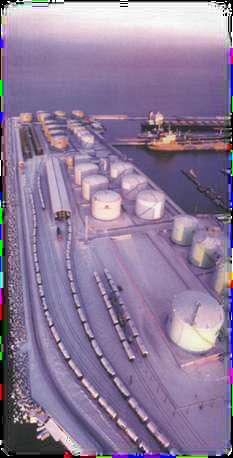 Водный терминал по перевалке нефти