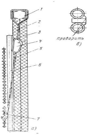 Восстановление провисших труб настенного пароперегревателя котла ТП-100