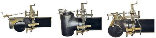 Cоединение труб с тремя сторонами
