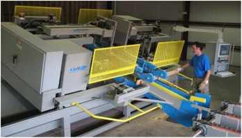 Автоматический двухсторонний торцовочный станок Automill HP