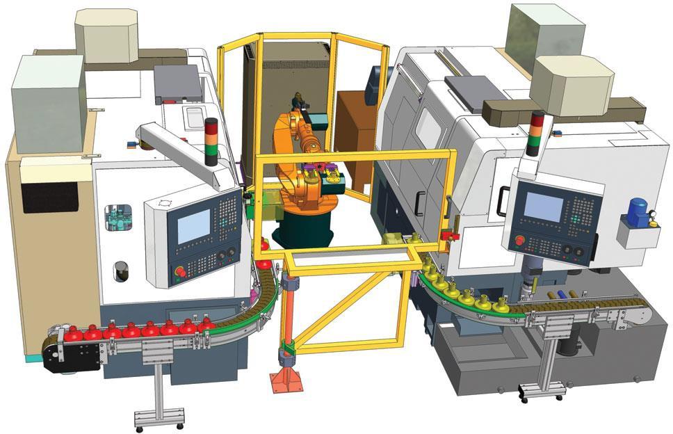 гибкий производственный модуль