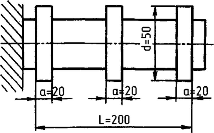 Образец-изделие для проверки точности станка в работе
