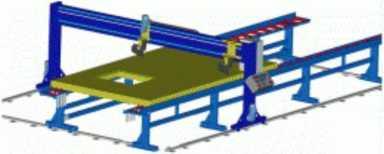 Полуавтоматический обшивочный стол NB-2007