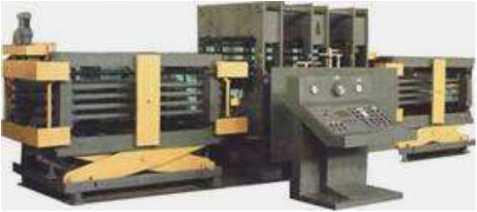 Пресс гидравлический для склейки дверных полотен Д0337