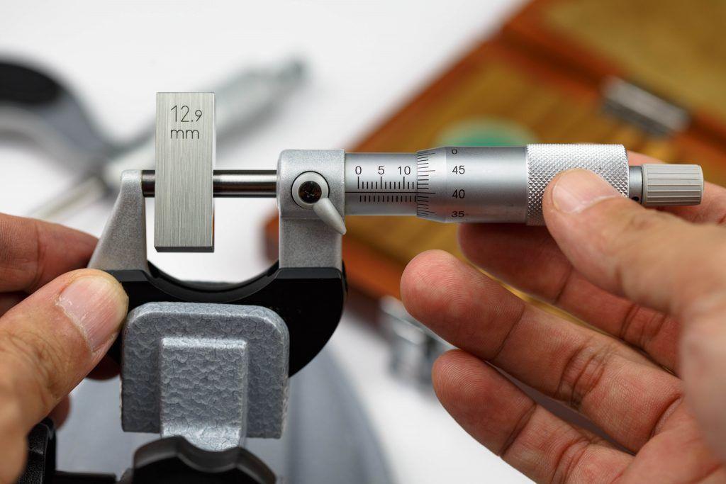 Проверка точности микрометра