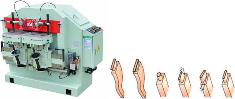 Шипорезный станок для овального шипа YRT-100 и виды зарезаемых шипов