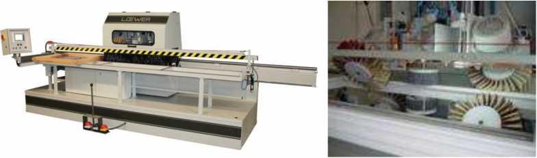Шлифовальный станок для оконных створок WindowMaster FA6D