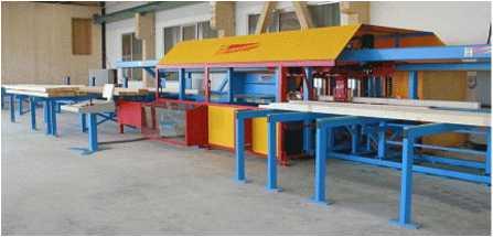Универсальный домостроительный центр с ЧПУ Hundegger K2i
