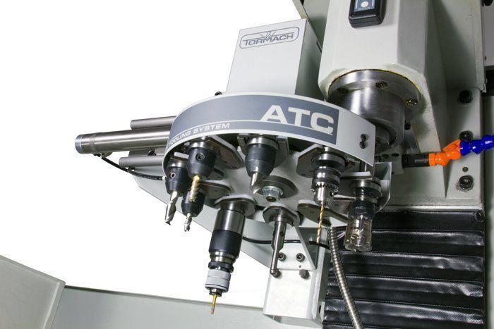Установка режущих инструментов в магазин