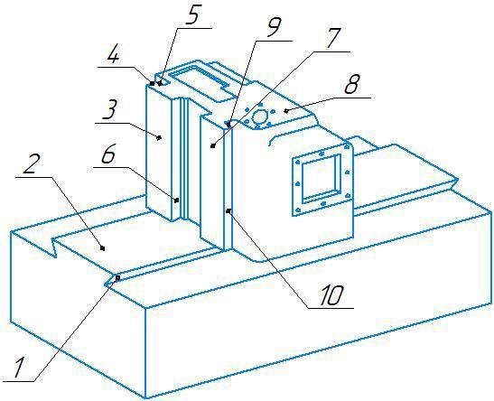 Ремонт направляющих консоли шабрением
