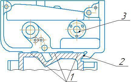 Схема ремонта передней бабки