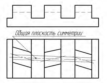 Общая плоскость симметрии